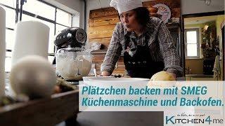 Plätzchen backen mit der SMEG Küchenmaschine und dem SMEG Backofen