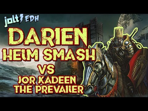 Jolt - Commander - Darien, Helm Smash vs Jor Kadeen, the Prevailer