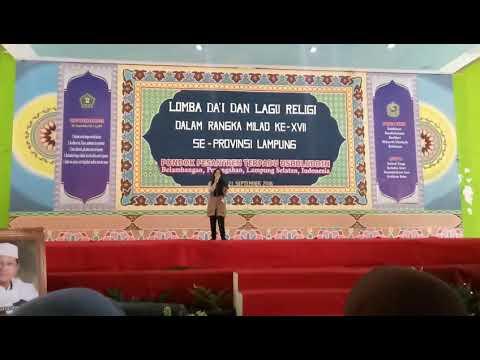 , title : 'Deen assalam Lomba Solo Song Religi se-Lampung (Kesih Irajaya)'