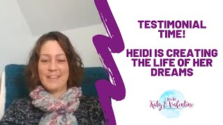 Heidi -- from a place of fear to complete INTUITION!