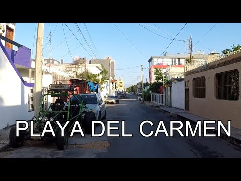 Walking Tour Playa del Carmen, Mexico
