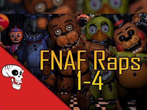 Five Nights at Freddy&#39s Raps (1-4) by JT Music
