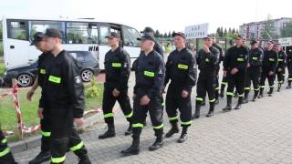 Korczyna - Gminne zawody sportowo - pożarnicze - wejście