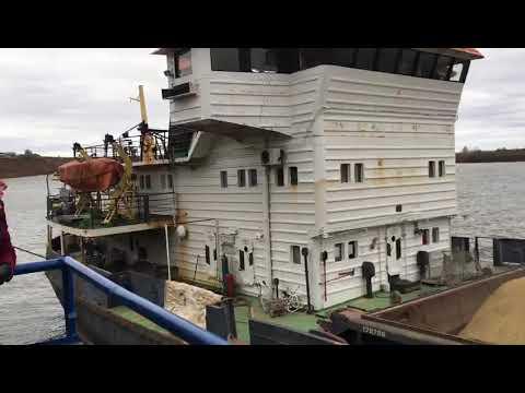 Большегрузное судно класса «река-море» впервые запустило ООО «Илишевский элеватор»