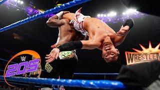 Tozawa vs. Alexander vs. Carrillo vs.  Rush - Fatal 4-Way Match: WWE 205 Live, Feb. 5, 2019