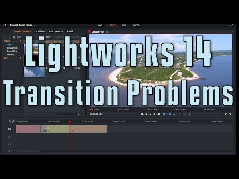 Lightworks 14 – Problems with Transitions