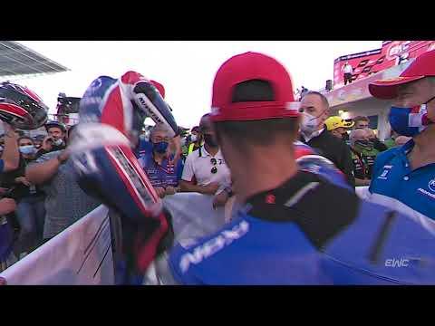 12時間の耐久レースを制したフィニッシュ動画 FIM EWC第3戦エストリル12時間
