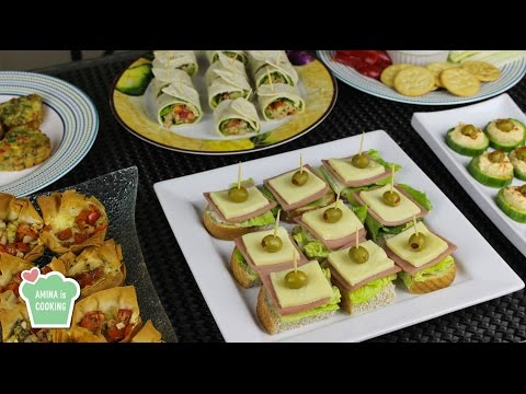 Video Finger Food Ideas/ Recipes - Episode 129 - Amina is Cooking