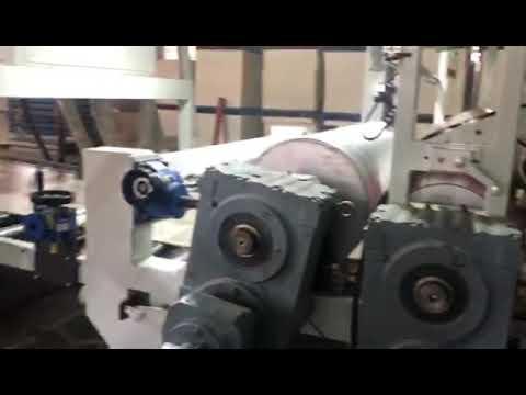 Dây chuyền sản xuất ván SPC cho flooring ở Colombia