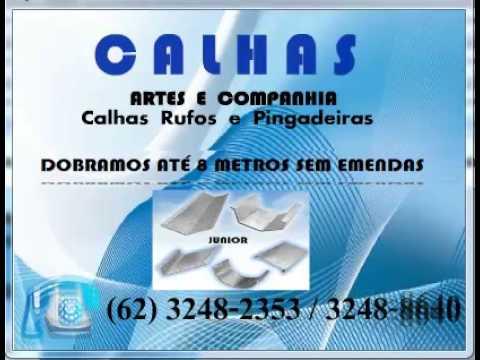 (62)3248-2353 Calhas rufos coifas pingadeiras em Bonópolis Goiás