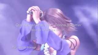 Donna Summer - I Will Go With You (Con Te Partiró) (Por: Héctor Manuel)