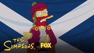 Willie's Views On Scottish Independence | Season 26 | THE SIMPSONS