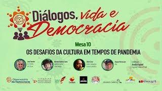 #AOVIVO | Os desafios da cultura em tempos de pandemia | Diálogos, Vida e Democracia