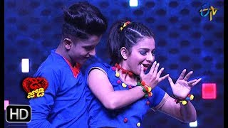 Suraj and  Mayuri Performance | Dhee Jodi | 16th January 2019 | ETV Telugu