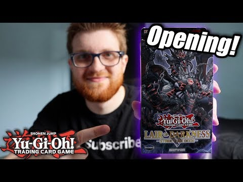 Yu-Gi-Oh! Lair of Darkness Structure Deck Opening + Discussion!