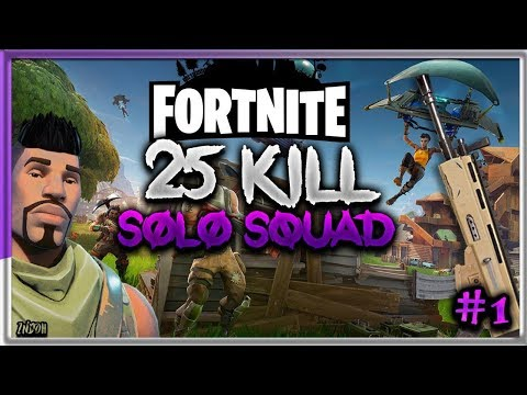 25 Kill Solo Squads Fortnite Battle Royale Gameplay Ps4 Indian