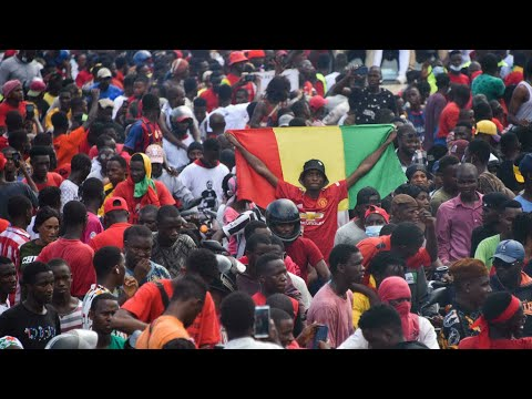 Guinée : retour en héros pour quatre opposants au président déchu Alpha Condé • FRANCE 24