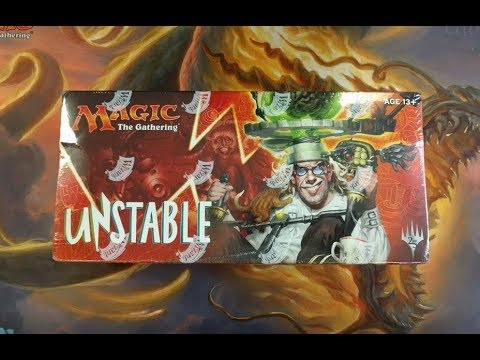 Unstable Booster Box I Predict which pack has a Full Art Foil Land
