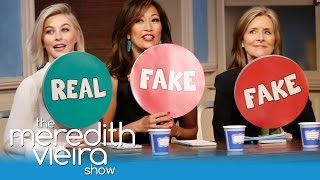 """Julianne Hough And Carrie Ann Inaba Play """"Spot A Fake!"""" 