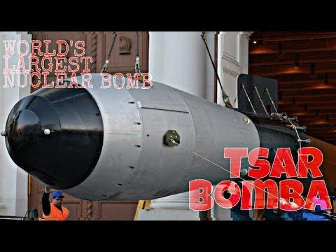 The most Powerfull Nuclear Bomb Ever Detonated!!!(Tsar Bomba).