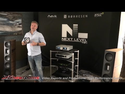 Borresen Acoustics Loudspeakers World Premere, Next Level HiFi, Aavik Acoustics, Ansuz Acoustics, RM