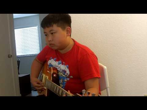 11 Years Old, 2 years of Playing/Studying with me.  Amazing to watch the next generation catch fire to music!