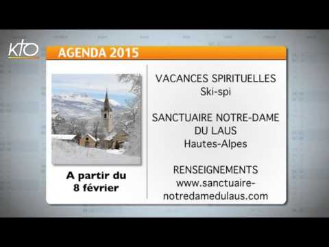 Agenda du 23 janvier 2015