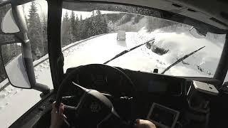 дальнобой-зимняя дорога