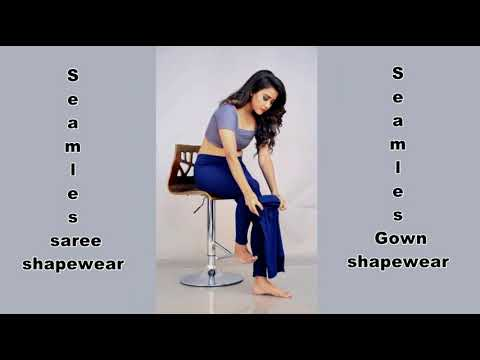 d26ad5d73eba1 Piatrends pure seamless saree shape wear petticoat for instant slimmy look  in sareegown