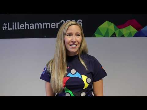 Lillehammer Youth Curling Camp 2019 - Interview with Kaitlyn Lawes