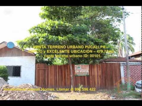 VENTA TERRENO URBANO PUCALLPA – AMPLIO y EXCELENTE UBICACIÓN – 479.73m2 – ID: 00101