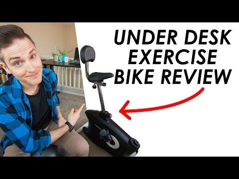 Desk Exercise Bike Review — Loctek U2 Exercise Bike