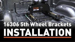 5th Wheel Hitch Install: CURT 16306 5th Wheel Brackets on a Ram 1500