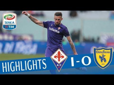 Fiorentina - Chievo 1-0 - Highlights - Giornata 26 - Serie A TIM 2017/18