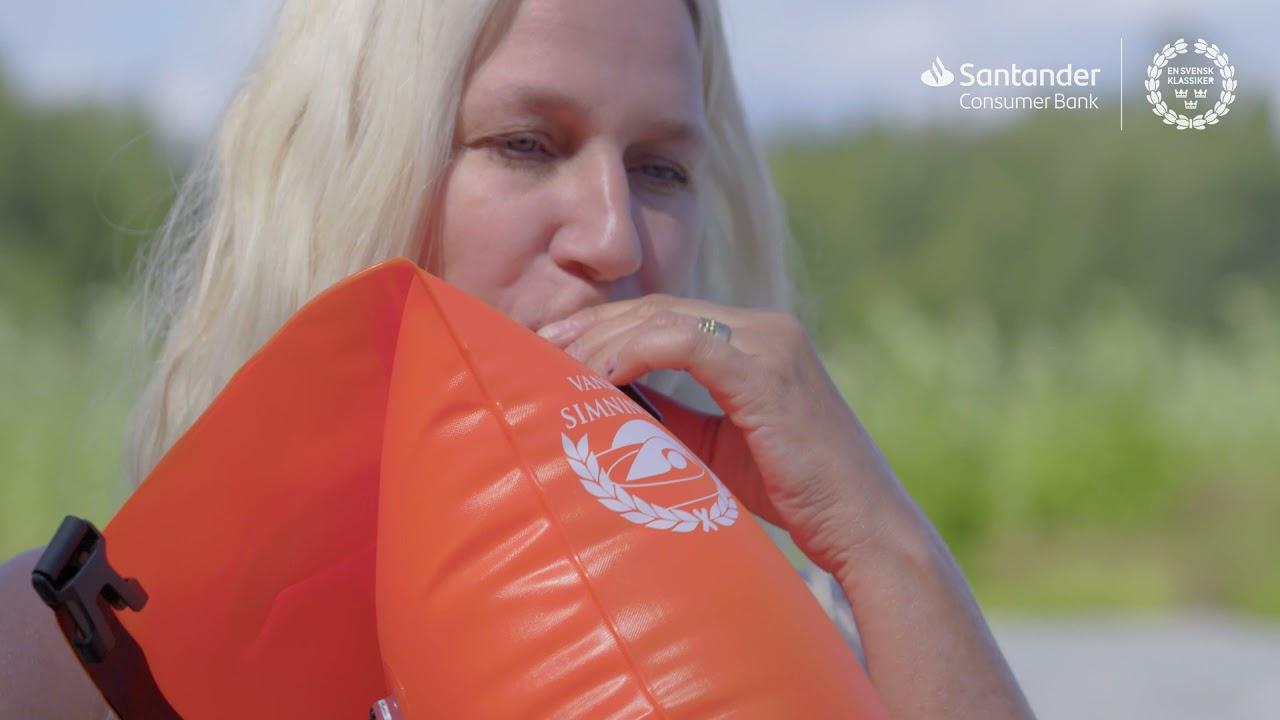 I avsnitt 2 av #MinKlassiker får du se hur det gick när Mattias, Ann och Manne simmade 3 kilometer i säsongens första klassikergren – Vansbrosimningen.