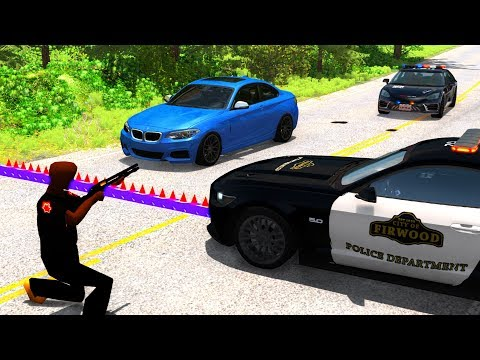 Extreme Police Chases Crashes&Fails #22 - BeamNG Drive