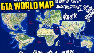 INSANE GTA WORLD MAP CONCEPT - THE ENTIRE WORLD IN GTA!