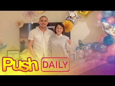 PUSH DAILY: Paolo Contis and LJ Reyes reveal the gender of their baby
