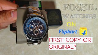 First Copy Fossil Watches On Flipkart?