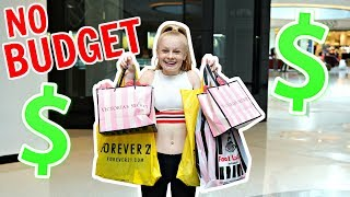 TEEN NO BUDGET CLOTHES SHOPPING CHALLENGE!! 🤑🛍