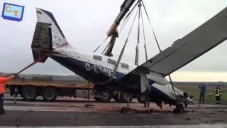 preview picture of video 'Flugzeugabsturz Donaueschingen...'