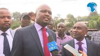 MPs Moses Kuria, Korir blocked from seeing Jaguar at Nairobi Area