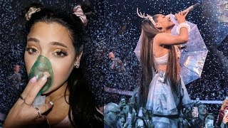 "ASTHMA ATTACK AT THE ARIANA SHOW (during ""breathin"")"