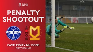 Full Penalty Shootout | Eastleigh v MK Dons | Emirates FA Cup 2020-21