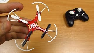Мини квадрокоптер FLYER 668 A4 Mini Quadcopter с сайта GearBest