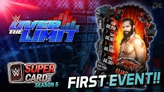 🔴LIVE - FIRST OVER THE LIMIT EVENT! Walk With Elias! | WWE SuperCard Season 5