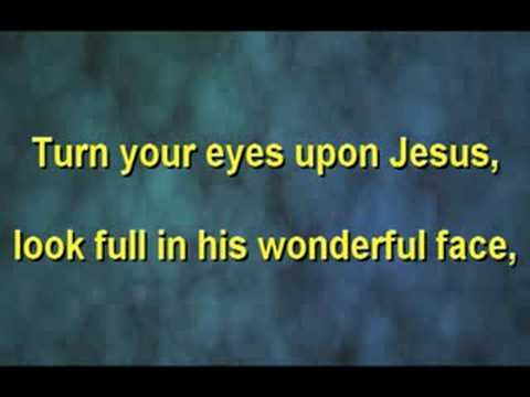 Turn Your Eyes Upon Jesus - Alan Jackson Chords