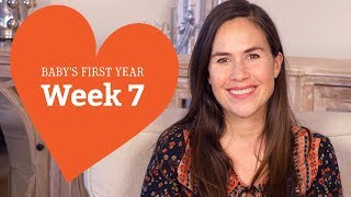 7 Week Old Baby - Your Baby's Development, Week by Week