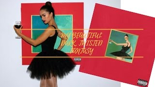 KANYE WEST MBDTF BALLERINA COSTUME | Album Cover Halloween Tutorial