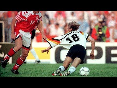 Jürgen Klinsmann Showing His Incredible Goals ● Fantastic Striker (RARE)